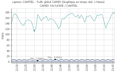 Trafic global CAMTEL